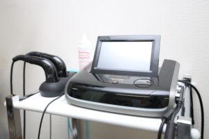 交通事故施術に使用する超音波施術