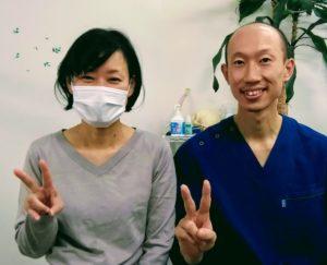 頚椎症でお悩みの名古屋市北区在住の40代女性S.F様