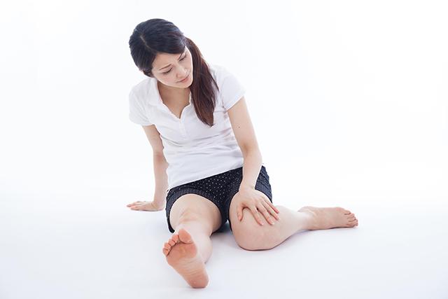 股関節のゆがみを矯正して膝の痛みが和らいだ40代の女性