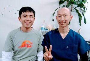 ジョギングでよくふくらはぎや足の甲を痛めて治りが悪くお悩みだった名古屋市名東区在住の49才男性のK.Mさん